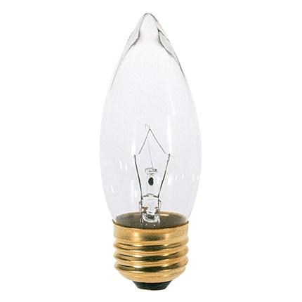 40B11 Satco S3232 40 Watt 120 Volt Incandescent Lamp