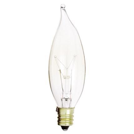 15CA8 Satco S3273 15 Watt 120 Volt Incandescent Lamp