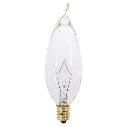 25CA8 Satco S3274 25 Watt 120 Volt Incandescent Lamp