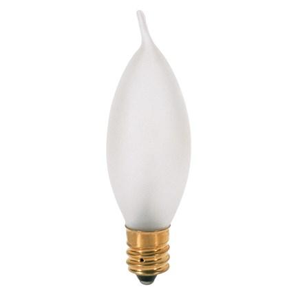 10CA7/F Satco S3276 10 Watt 120 Volt Incandescent Lamp