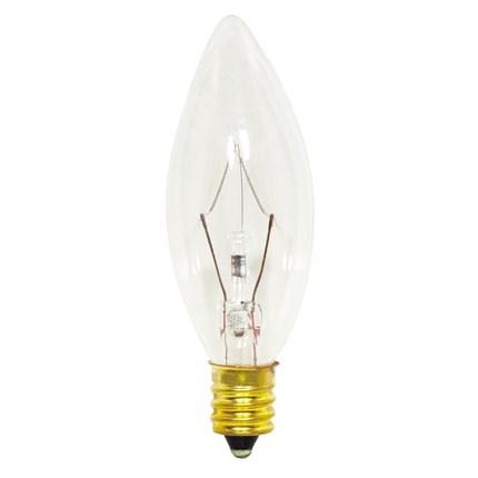 40B8/Petite Satco S3347 40 Watt 130 Volt Incandescent Lamp