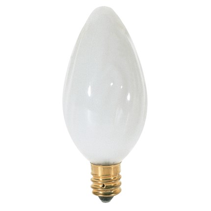 25F10/W Satco S3372 25 Watt 120 Volt Incandescent Lamp