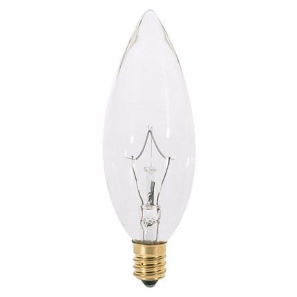 40B10/220V Satco S3387 40 Watt 220 Volt Incandescent Lamp