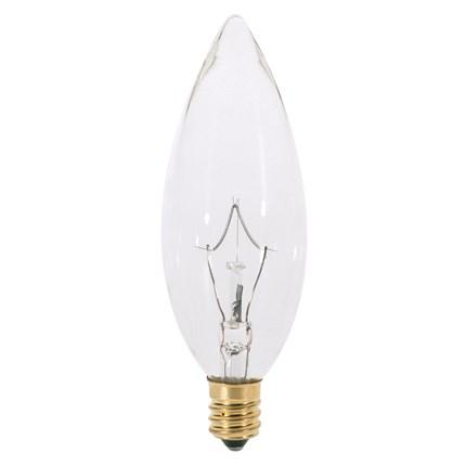 25B10/220V Satco S3393 25 Watt 220 Volt Incandescent Lamp