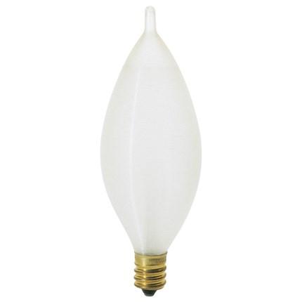 40C11 Satco S3404 40 Watt 120 Volt Incandescent Lamp