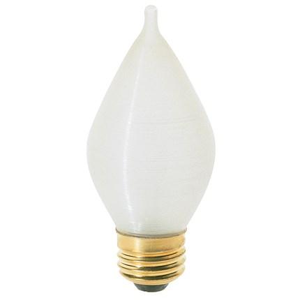 60C15 Satco S3415 60 Watt 120 Volt Incandescent Lamp