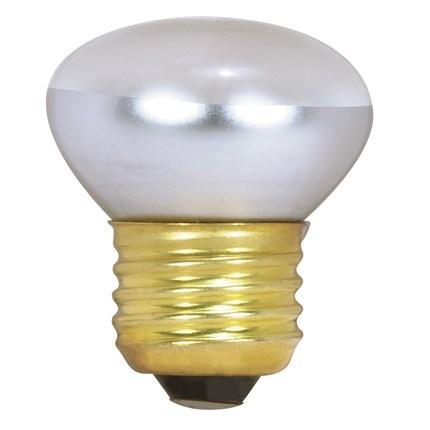 40R14 Satco S3602 40 Watt 120 Volt Incandescent Lamp