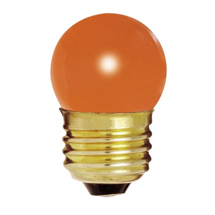 7 1/2S11/O Satco S3610 8 Watt 120 Volt Incandescent Lamp