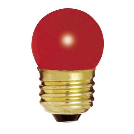 7 1/2S11/R Satco S3611 8 Watt 120 Volt Incandescent Lamp