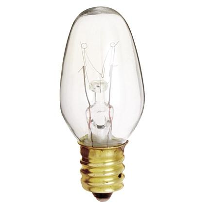 4C7 Satco S3680 4 Watt 120 Volt Incandescent Lamp
