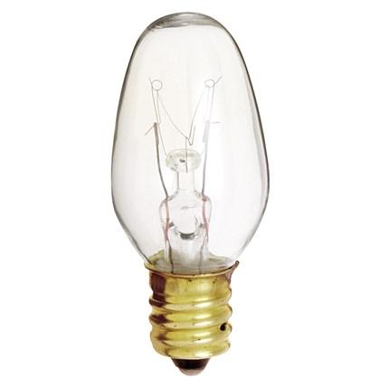 4C7 Satco S3797 4 Watt 120 Volt Incandescent Lamp
