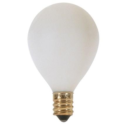 10G12 1/2/W Satco S3830 10 Watt 120 Volt Incandescent Lamp