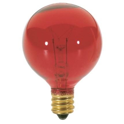 10G12 1/2/R Satco S3833 10 Watt 120 Volt Incandescent Lamp