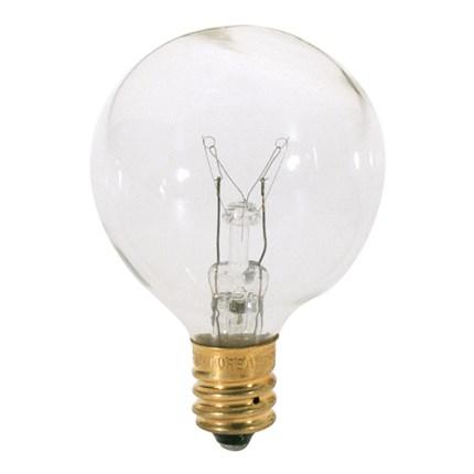 10G12 1/2 Satco S3844 10 Watt 120 Volt Incandescent Lamp
