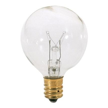 15G12 1/2 Satco S3845 15 Watt 120 Volt Incandescent Lamp