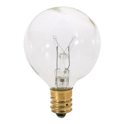 25G12 1/2 Satco S3846 25 Watt 120 Volt Incandescent Lamp