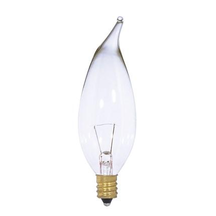 15CA10/12V Satco S3867 15 Watt 12 Volt Incandescent Lamp
