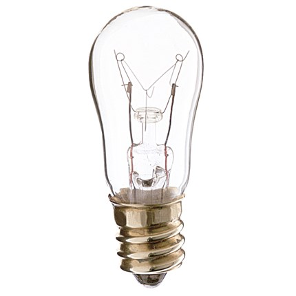 6S6 Satco S3900 6 Watt 130 Volt Incandescent Lamp
