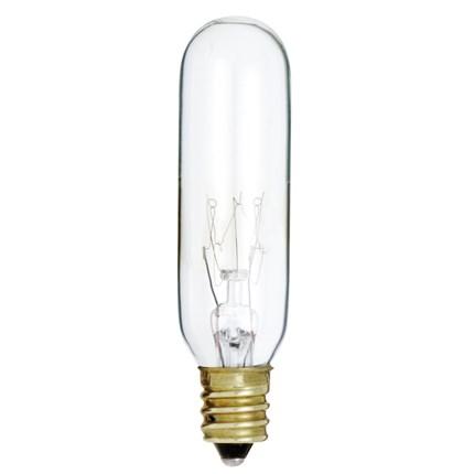 15T6 Satco S3910 15 Watt 130 Volt Incandescent Lamp