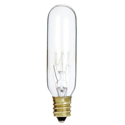 15T6/145V Satco S3912 15 Watt 145 Volt Incandescent Lamp