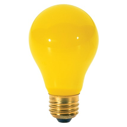 60A/Bug Satco S3938 60 Watt 130 Volt Incandescent Lamp