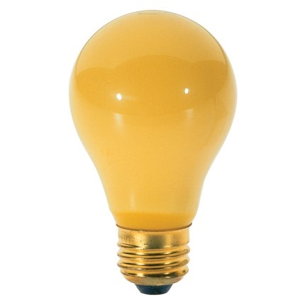 100A/Bug Satco S3939 100 Watt 130 Volt Incandescent Lamp
