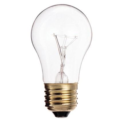 15A15 Satco S3948 15 Watt 130 Volt Incandescent Lamp