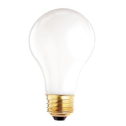 60A19/F/VS Satco S3952 60 Watt 130 Volt Incandescent Lamp