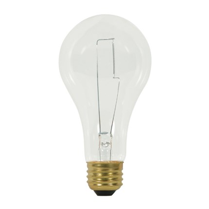 200A23/CL Satco S3958 200 Watt 120 Volt Incandescent Lamp