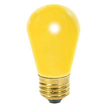 11S14/Y Satco S3960 11 Watt 130 Volt Incandescent Lamp