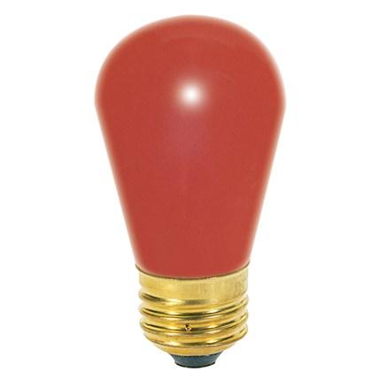 11S14/R Satco S3961 11 Watt 130 Volt Incandescent Lamp