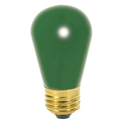 11S14/G Satco S3962 11 Watt 130 Volt Incandescent Lamp