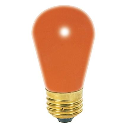 11S14/O Satco S3964 11 Watt 130 Volt Incandescent Lamp