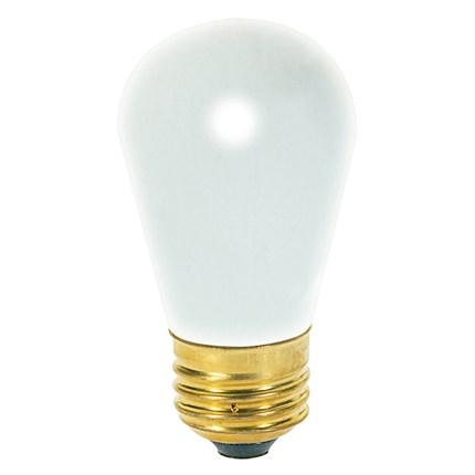 11S14/F Satco S3966 11 Watt 130 Volt Incandescent Lamp