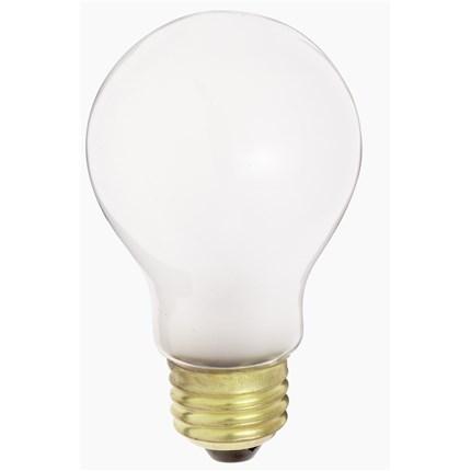 60A19/W/230V Satco S4077 60 Watt 230 Volt Incandescent Lamp