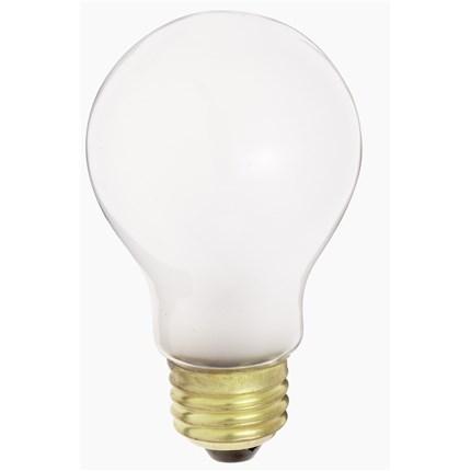 100A19/W/230V Satco S4079 100 Watt 230 Volt Incandescent Lamp