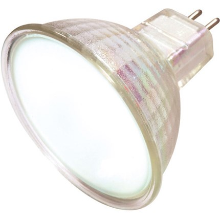 20MR16/FL/FR/C Satco S4120 20 Watt 12 Volt Halogen Lamp