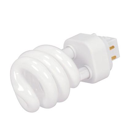 PLS13 2700K SPIRAL Satco S4438 13 Watt 120 Volt Compact Fluorescent Lamp
