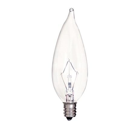 KR25CA9 1/2 Satco S4465 25 Watt 120 Volt Incandescent Lamp