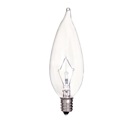 KR40CA9 1/2 Satco S4466 40 Watt 120 Volt Incandescent Lamp