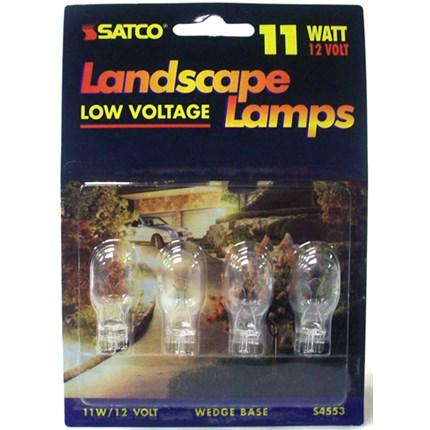 11T5 Satco S4553 11 Watt 12 Volt Miniature Lamp