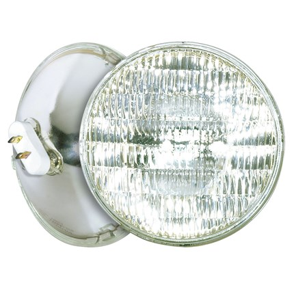 500PAR56Q/WFL Satco S4670 500 Watt 120 Volt Sealed Beam Lamp