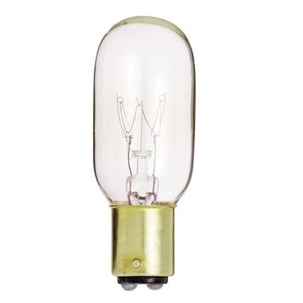 15T7/DC Satco S4719 15 Watt 130 Volt Incandescent Lamp