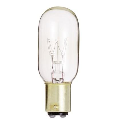 25T8/DC Satco S4721 25 Watt 130 Volt Incandescent Lamp