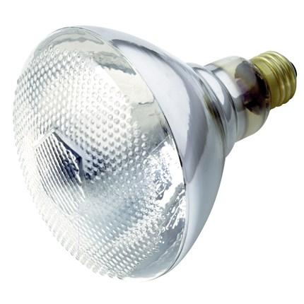 100BR38/Clear Heat Satco S4753 100 Watt 120 Volt Incandescent Lamp