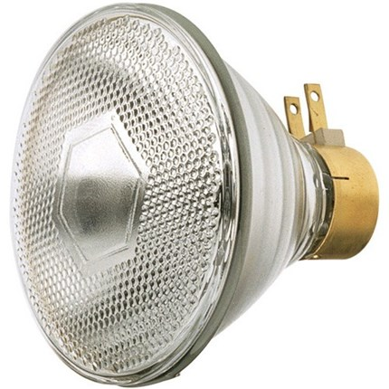 120PAR/3SP/MINE GE 80322 120 Watt 120 Volt Incandescent Lamp
