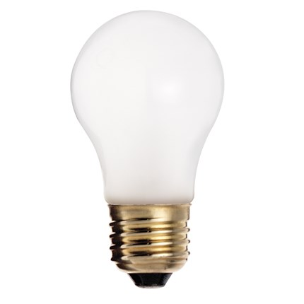25A15/TF Satco S4880 25 Watt 130 Volt Incandescent Lamp