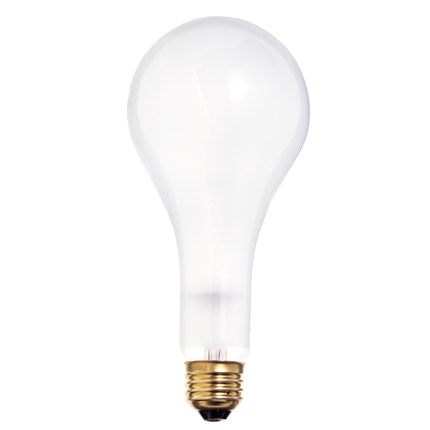 300M/IF Satco S4960 300 Watt 130 Volt Incandescent Lamp