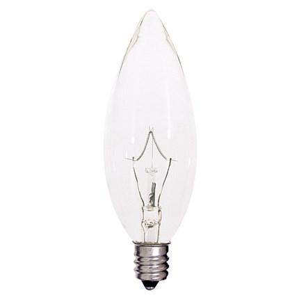 KR40BA9 1/2 Satco S4996 40 Watt 120 Volt Incandescent Lamp