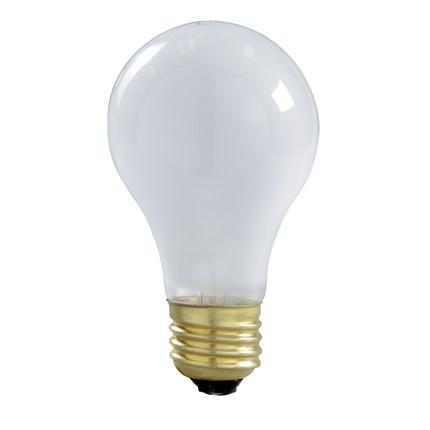 100A/LHT/Left Hand Thread Satco S6010 100 Watt 130 Volt Incandescent Lamp